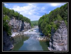This photo from New York, Northeast is titled 'Letchworth State Park'. Letchworth State Park, State Parks, Go Hiking, New York Travel, Where To Go, Trail, Beautiful Places, Scenery, Landscape