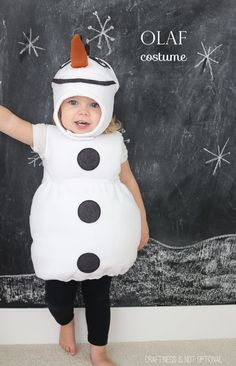 You've already seen Anna.… so the second part of the Frozen gang is, of course, Olaf the snowman!...