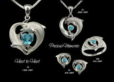 Dolphin Jewelry - Heart to Heart by The Cove Bubble, via Flickr