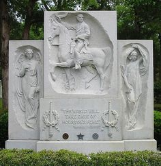 "A photo of Sam Houston's gravesite memorial in Huntsville, Texas. Credit: Wikipedia. Read more on the GenealogyBank blog: ""Curious & Funny Epitaphs of Famous People & the Not-So-Famous."" http://blog.genealogybank.com/curious-funny-epitaphs-of-famous-people-the-not-so-famous.html"