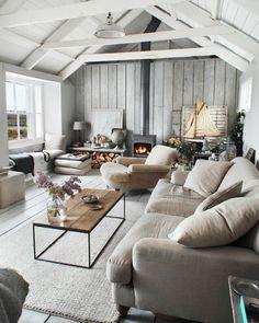 Room Crush: Serene Gray Living Room -- One Kings Lane