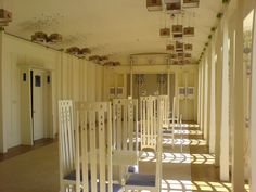 Music Room, House for an Art Lover, designed by Charles Rennie Mackintosh.