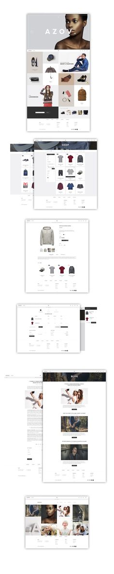 AZOV - Ecommerce on Behance