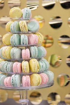 tower of pastel sweets @The Sweet Side @Alante Photography