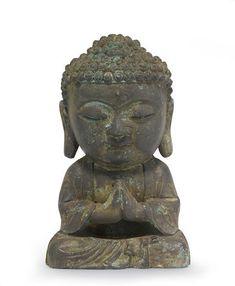 A bronze seated figure of the Buddha Joseon dynasty, 17th century