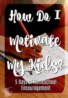Motivational Monday 5 Day Blog Hop Encouragement for Your Homeschool Motivational Monday, Motivate Yourself, Monday Motivation, Montessori, Homeschooling, Helpful Hints, Back To School, Apron, Encouragement
