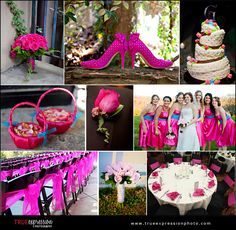 HOT pink WEDDING