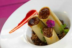 The bull's tail cannelloni at Vega 10 is the restaurant's signature dish, incredibly popular among locals and visitors alike! When you are wondering where to eat in Seville, make sure you add this restaurant to your list!