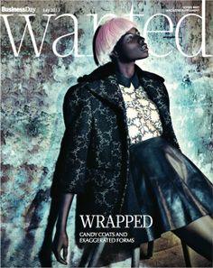 Wanted Cover, Photographer: Marguerite Oelofse, Hair & Makeup: Jazz Mang, Styling: Silvia Naefe, pink wig, short hair, leather skirt, dark skin, www.basics-berlin.de
