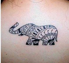 Elephant Tribal Print Background for Pinterest
