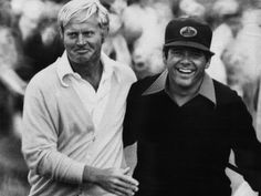 Jack Nicklaus and Lee Trevino, this one is for you, Mom.