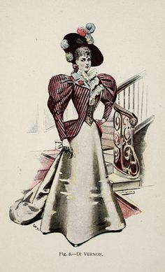 Di Vernon from 'Fancy Dresses Described; or, What to Wear at Fancy Balls,' by Hold, Ardern, 1896