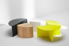 Dimensions Quarter Circle Table – W: 40cm; D: 40cm; H: 40cm Quarter Circle Container – W: 40cm; D: 40cm; H: 40cm Half Circle Container – W: 80cm; D:..