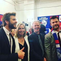 Double the Fun: Chris and Liam Hemsworth Show Their Team Spirit in Australia