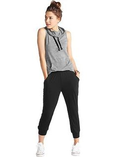 Adidas Stellasport Sleeveless Hoodie in Grey - Urban Outfitters ...