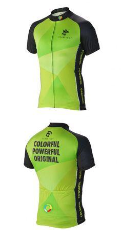 Team ICG® Radtrikot CbC grün: Unser CbC (Coach by Color®) Kurzarm Radtrikot in grün.