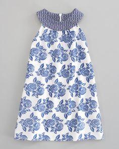 Charabia Sleeveless Floral Dress - Neiman Marcus
