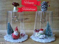 Faccio e Disfo Handmade - Il Laboratorio delle Cose Minute: Lavoretti di Natale con i bicchieri di plastica