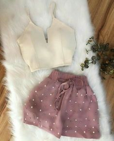 Tips on women's fashion this year - fashion trend Cute Casual Outfits, Short Outfits, Stylish Outfits, Fall Outfits, Summer Outfits, K Fashion, Teen Fashion Outfits, Fashion Dresses, Womens Fashion