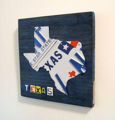 Texas license plate art