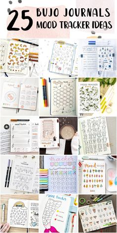 Vintage Bullet Journal Mood Tracker Collection Ideas - Bullet Journals Ideas #bulletjournalsetup #bulletjournalexamples #bulletjournalbeginning Bullet Journal Beginning, Bullet Journal For Weight Loss, Dotted Bullet Journal, Making A Bullet Journal, Bullet Journal Examples, Bullet Journal Mood Tracker Ideas, Bullet Journal Titles, Bullet Journals, Purple Amethyst