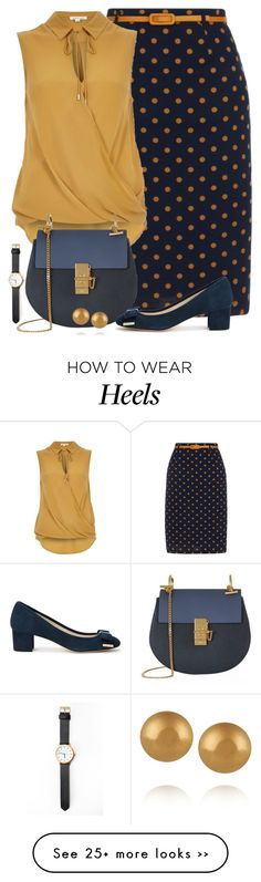 """Untitled #5987"" by ana-angela on Polyvore featuring Yumi, River Island, Chloé, Carolina Bucci and MICHAEL Michael Kors"