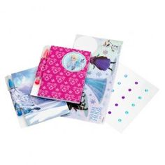 Let your children decorate thier own Frozen notebooks, 2 notebooks included with 2 gel pens