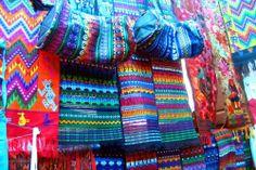 Guatemalan Handwoven Textiles Market.
