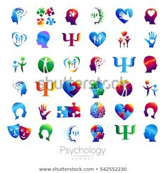 Tattoos are popular now more than ever. Psychology Tattoo, Psychology Symbol, Art Psychology, Vector Design, Logo Design, Brain Logo, Family Logo, Examples Of Logos, Motivational Picture Quotes