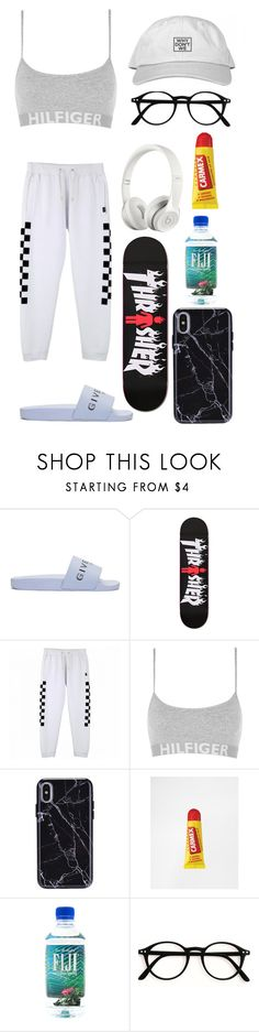 """""""Chill"""" by jelenacv ❤ liked on Polyvore featuring Givenchy, Vans, Tommy Hilfiger, Carmex and Beats by Dr. Dre"""