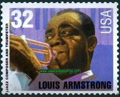 jazz musicians on stamps
