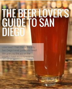 15 of the best microbreweries in San Diego, California, from @Buggl guides >>> SD has the best beer!!!