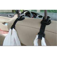 Car Hanger Holder Organizer Hook Seat 2 PCS Universal Bag Purse Umbrella Styling #CarHookChina