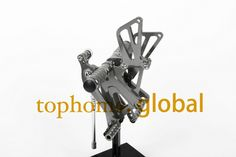 Free Shipping Dark grey New CNC Motorcycle Rearsets Foot pegs Rearset For Honda CBR250RR 2010-2013 2011 2012