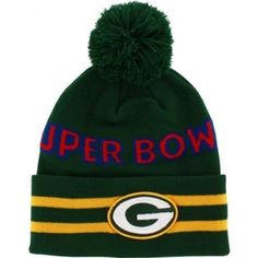 Green Bay Packers Superbowl II Knit Hat with Pom Baby Blanket Crochet, Crochet Baby, Crochet Patterns For Beginners, Knitting Patterns, Hand Crochet, Crochet Hooks, Green Bay Packers Merchandise, Boyfriend Crafts, Crochet Needles