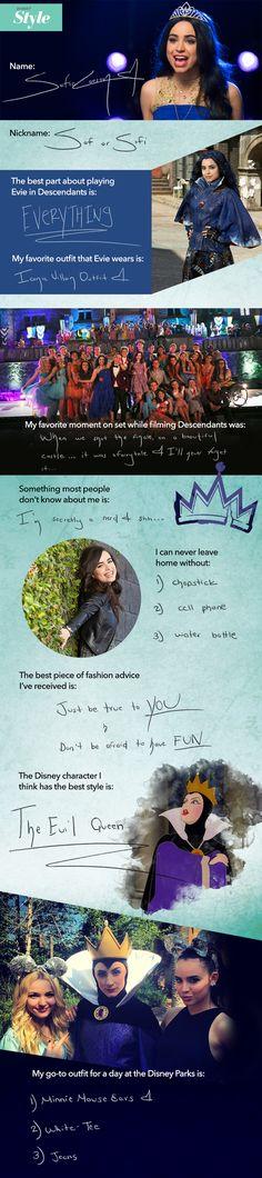 Sofia Carson Takes the Disney Style Quiz!