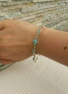 Kaufe meinen Artikel bei #Kleiderkreisel http://www.kleiderkreisel.de/accessoires/armbander-and-armreife/106452082-turkis-glitzerndes-armband-neuwertig