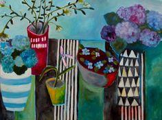 Garden Table - Annie OBrien Gonzales