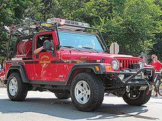 Leesburg Vol. Fire Company - Jeep Brush Truck