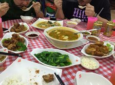 Zhi char dinner