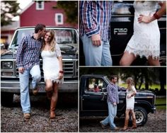 Cute picture...and the truck is a Ford!