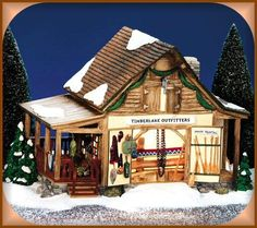 Timberlake Outfitters, Original Snow Village (#0310)