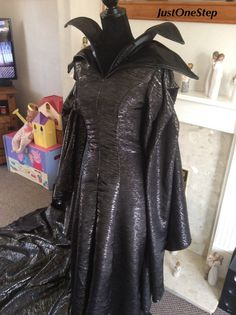 MALEFICENT Costume Dress Gown Cosplay Adult Evil by JustOneStep