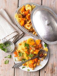 Winter-Couscous, lecker und gesund. Vegetarisch und perfekt, wenn es schneit, wie heute;-)