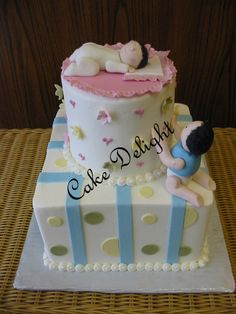 Baby Shower Cake @ Cake Delight. Located: 147 N. Livermore Ave., Ste. B  925-373-7786  www.cakedelight.com Baby Shower Cakes, Desserts, Food, Cakes Baby Showers, Tailgate Desserts, Deserts, Essen, Postres, Meals