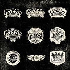 Logotipos Imagen Corporativa Gascap Motor's | Alex Ramon Mas | Disseny Gràfic Barcelona