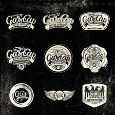 Logotipos Imagen Corporativa Gascap Motor's   Alex Ramon Mas   Disseny Gràfic Barcelona