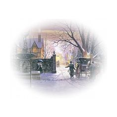tubes paysages ❤ liked on Polyvore featuring winter, christmas, tubes, backgrounds and zima