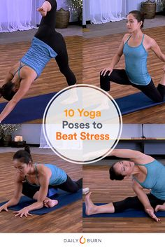 Don't let this election season get the best of you! These 10 yoga poses will have you feeling relaxed and rejuvenated in no time. via @dailyburn