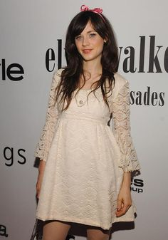 Zooey Deschanel The Bliss Of Perfection Cute Dresses Outfits Summer